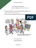 Karikaturen 2 Bildbeschreibung Und Eine Stellung n Arbeitsblatter Bildbeschreibungen 115383
