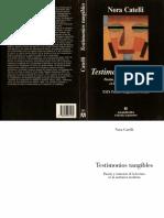 CATELLI - Prólogo e introducción Testimonios tangibles