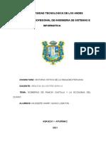 Monografia Historia Gobierno de ramon castilla y la economia del guano