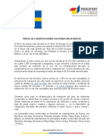 Perfil Logistico de Suecia 2014