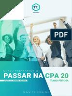 CPA 20 - Thiago Feitosa - Janeiro 2019