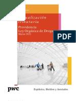 Providencia Ley Orgánica de Droga | Boletín de Actualización Tributaria | PwC Venezuela
