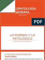 Psicopatología General - Salud, Enfermedad, Normal y Patológico - Actualizado