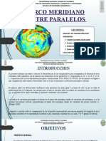 Ppt-Arco Meridiano Entre Paralelos