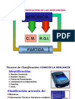 TECNICA DE CLASIFICACION ARANCELARIA