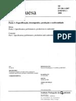 NP EN 206-1-2007 EMENDA 1