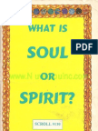 What is Soul or Spirit