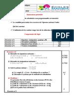 Preparation n°12 C9