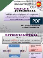 ESTEQUIOMETRIA CLASE MERY CI 2019-2020