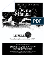 Leisure Bay Spa manual