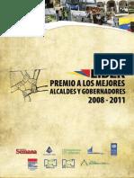 Alcaldes y Gobernadores 2008-2011