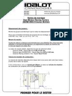 Notice de montage Bidalot 94