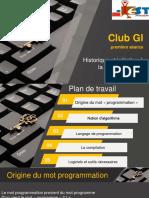 Coding Club (1ère Séance)