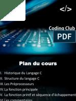 Coding Club (3ème Séance )