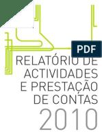 RELATÓRIO E CONTAS TCB_2010