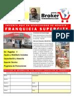 FRANQUICIAS SUPERCITY TIENDAS DE CONVENIENCIA