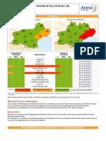 Episode pollution ozone dans l'Hérault
