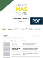 Schaman Formacion Sprint 11