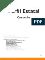 Estadisticas del Estado de Campeche durante el 2008