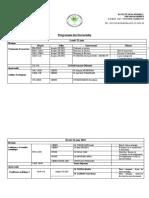 Programme des doctoriales