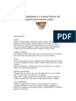 Guía de Basquetbol