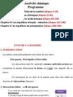 Cours Réactivité Chimique BCG S2 (2020)