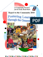 Head Start Annual Report 2010