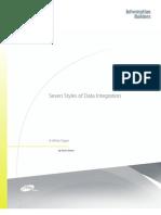 Seven Styles of Data Integration