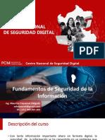 Unidad 1 Introducción a La Seguridad de La Información