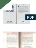 Xabier Zubiri-Primeros Escritos (1921-1926).Pag 35 a 65