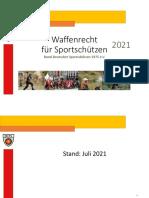 BDS Waffenrecht Für Sportschützen 2021