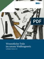 BKA Leitfaden Wesentliche Waffenteile 31 Dez 2020