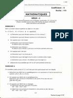 Bac c Maths 2006