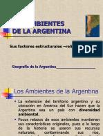 CLASE - Los Ambientes en la Argentina