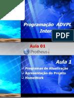 Treinamento_ADVPL_Intermediário_aula 01
