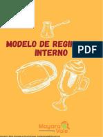 Modelo Básico de Regimento Interno - Consultoradealimentos