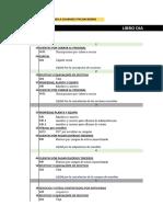 ASIENTOS CONTABLES Contabilidad de Costos de Fabricación (DESCARGAR EN EXCEL)