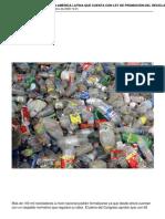 Peru Es El Primer Pais en America Latina Que Cuenta Con Ley de Promocion Del Reciclaje