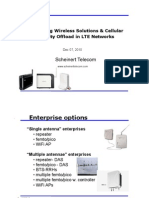 In-Building Wireless Solution and Capacity Offload in 3G and LTE-V1.0