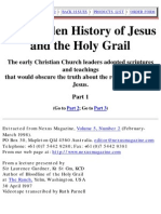 Laurence Gardner The Hidden History Of Jesus And The Holy Grail