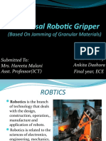 Universal Robotic Gripper