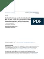 PAG.46 LC ISO 9001 2015 SITIO GESTION VER Diseño del sistema de gestión de calidad basado en la Norma NTC I