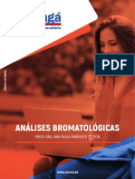Análises Bromatológicas - AVA