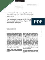 publicación sobre el N-DO y López Heptener 2008