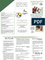 Promocion y Formulario de Matricula Robotica Verano