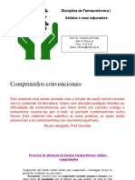 Formas Farmacêuticas Sólidas _comprimidos Parte 1b