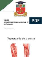 Topographie de La Cuisse