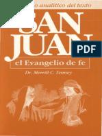 San Juan El Evangelio de La Fe Por Merrill C Tenney TLC