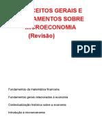 Microeconomia - Revisão