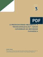 o Protestantismo Historico e a Pentecost